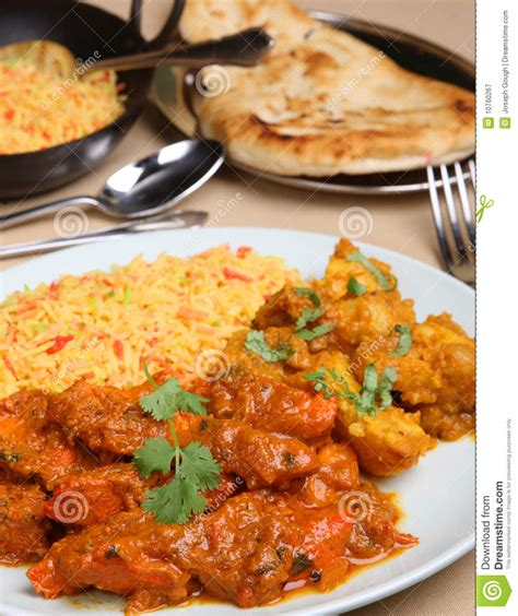 curry payment plan chicken vindaloo curry meal royalty free stock photography