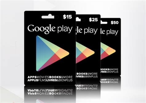 What Stores Sell Google Play Gift Cards - google play gift cards now available in canada