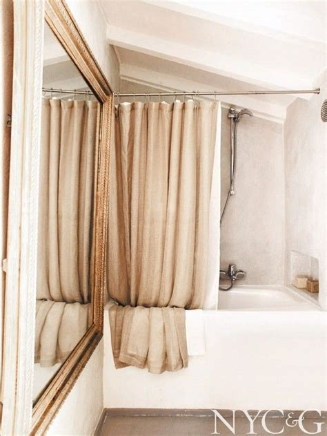 mirror shower curtain tour a south of france getaway so lovely it hurts french