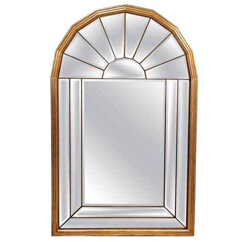 mid century modern mirrors hollywood regency palladian window style mid century