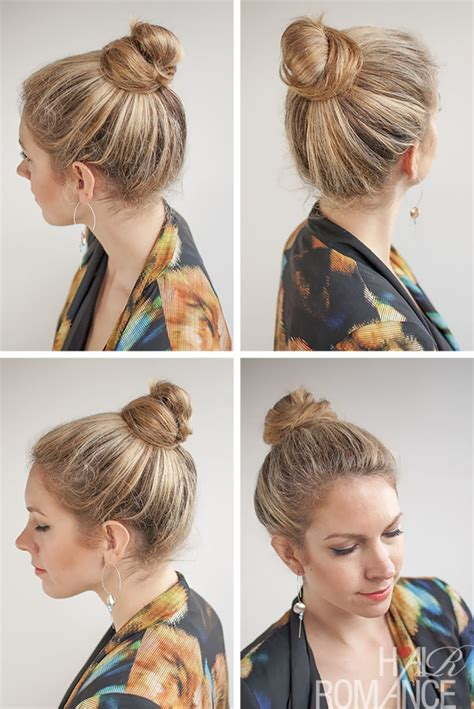 How To Put The Worlds Greatest Hair Buns With Braids | 30 buns in 30 days day 20 top knot bun hair romance