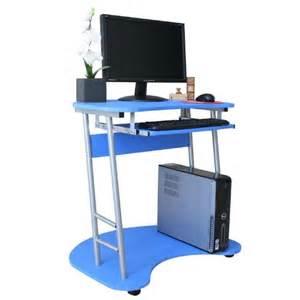 furinno rolling laptop computer desk table 76019blue s ebay