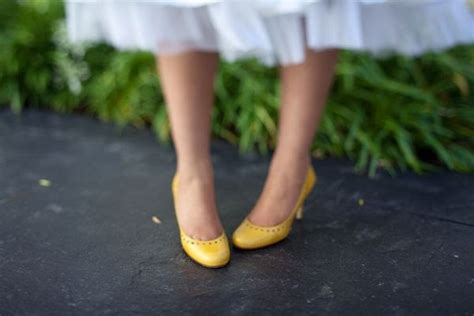 Yellow Bridal Shoes by Wedding Yellow Wedding Shoes