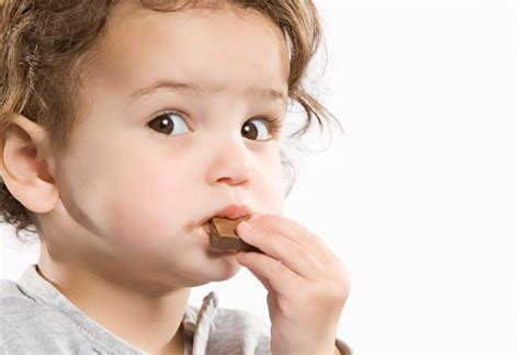 what do you do if your eats chocolate can you give your baby chocolate this easter baby