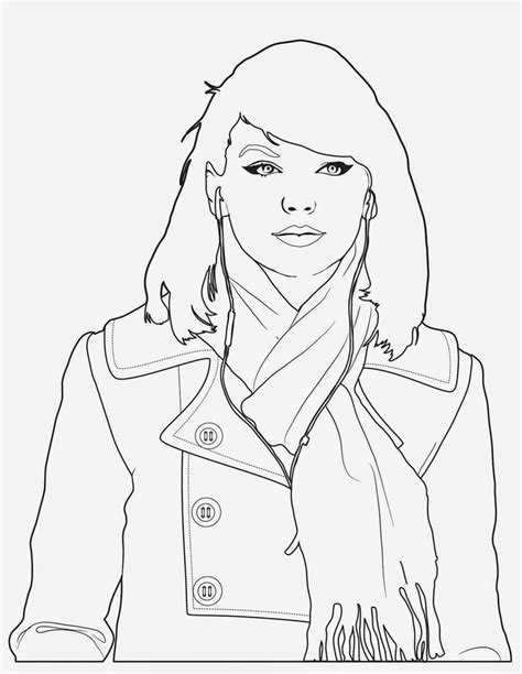 taylor swift coloring pages easy 17 best images about coloring food on pinterest