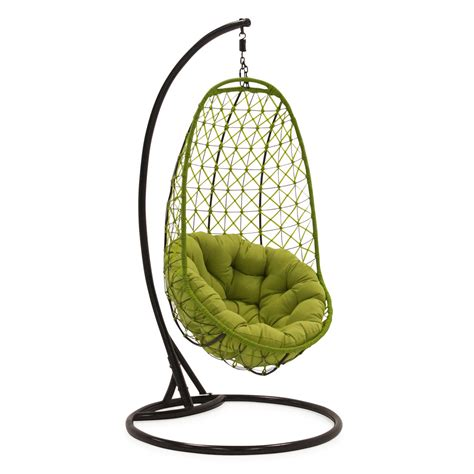 rattan egg chair swing comfortable egg shaped rattan outdoor euro swing chair