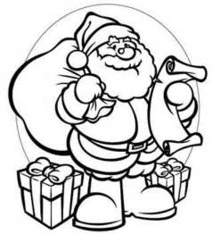 santa coloring page get this santa coloring page free printable 22398