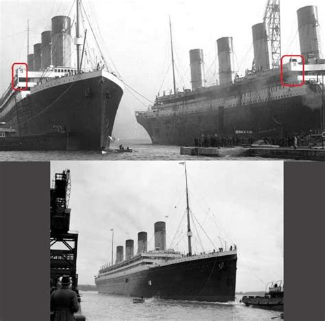Titanic Sinking Theory by Conspiracy Theory Thursday It Wasn T The Titanic That