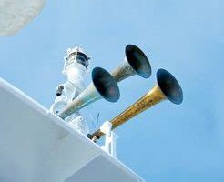 boat whistle definition of whistles bells and gongs all at sea