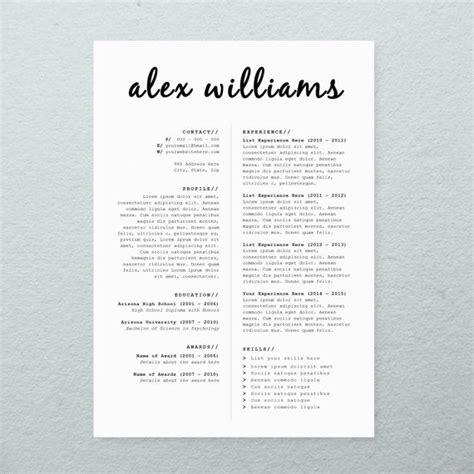 free printable creative resume templates microsoft word cv design cover letter printable resume template