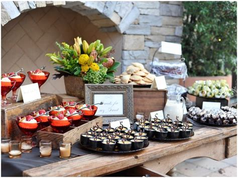Dessert Stations Catering Chronicles Food For Thought Dessert Buffet Catering