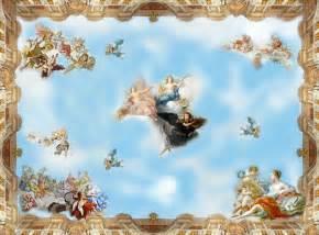 Night Sky Wall Mural online toptan al m yap n asma tavan resim 199 in den asma