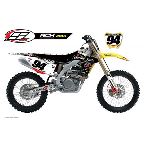 Rch Suzuki Graphics Stellar Mx Official 2015 Rch Suzuki Team Supercross