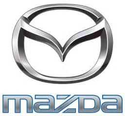the evolution of the mazda logo and brand inside mazda