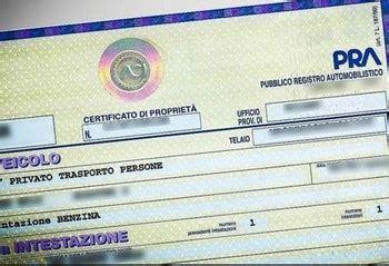 radiazione d ufficio il pubblico registro automobilistico quot radiazione