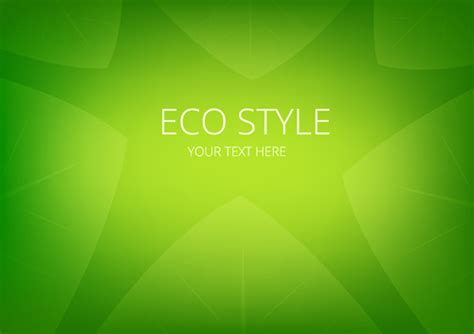 design background vector cdr shiny eco style green background vector free vector in
