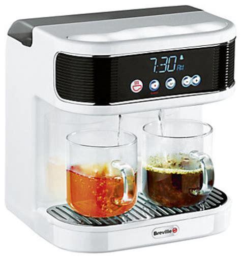 bedroom tea maker breville wakecup teasmade modern coffee machines by