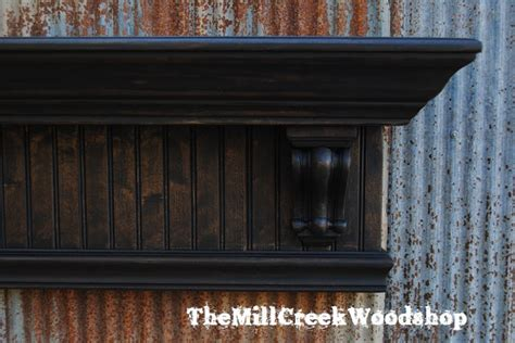 60 Inch Floating Mantel Shelf by Items Similar To Distressed Wall Shelf 60 Inches Crown