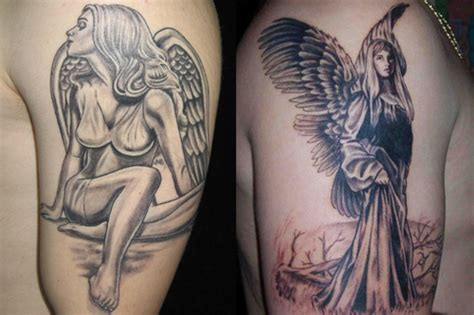 female angel tattoos for men images designs