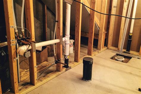 plumbing rough rough in bathroom plumbing stunning when properly plumbed