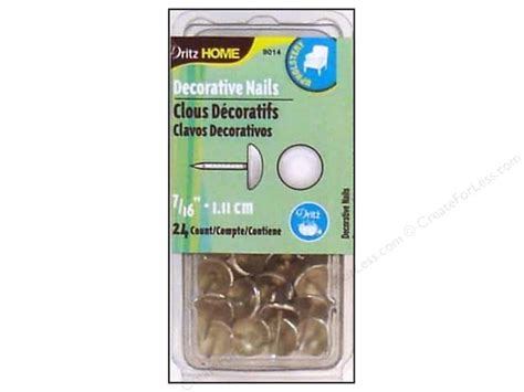 dritz home decorative nails decorative nails by dritz home 7 16 in nickel 24pc