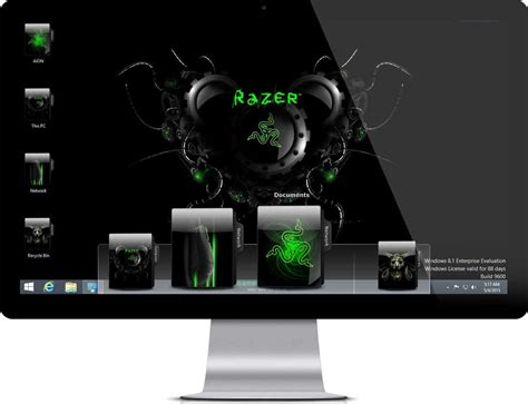 download theme windows 7 gamer razer theme windows 7 and windows 10