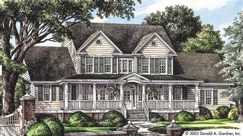 Split Level Front Porch Designs by Farmhouse House Plans And Farmhouse Designs At