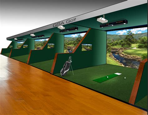 Wood Awning Gsa Advanced Golf Simulators Enclosures