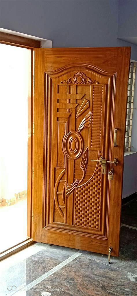 pin  cnc designing  doors front door design wood