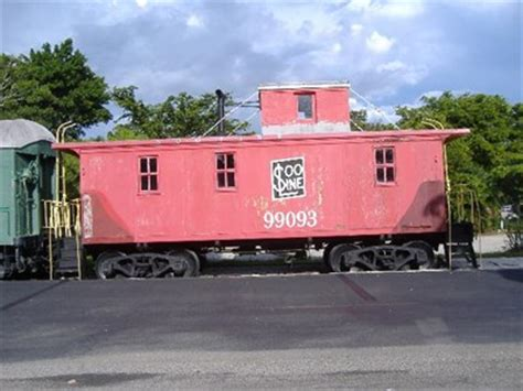 caboose at the naples depot naples fl cabooses on
