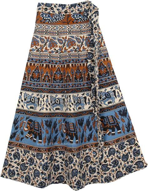 Malta Skirt malta ethnic wrap around skirt multicoloured wrap