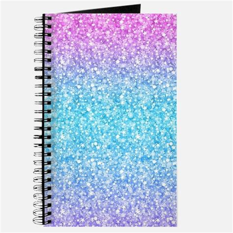 Glitter Notebook glitter notebooks glitter journals spiral notebooks