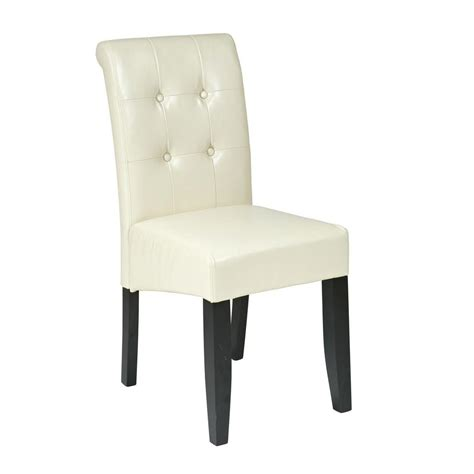 eco dining chairs ospdesigns eco leather parsons dining chair met88cm