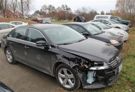 wrecked car before and after accident damaged cars for sale what to know before buying