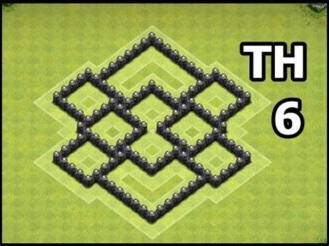 ultimate th6 layout clash of clans town hall 6 farming base best coc th6