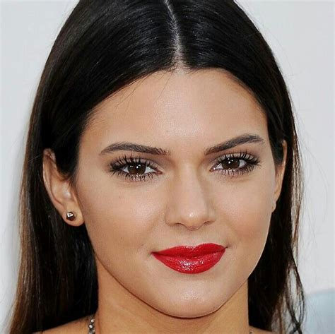 Lipstik Belleza kendall jenner s makeup hair belleza