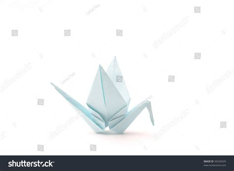Origami Article - origami bird white child paper articles stock photo
