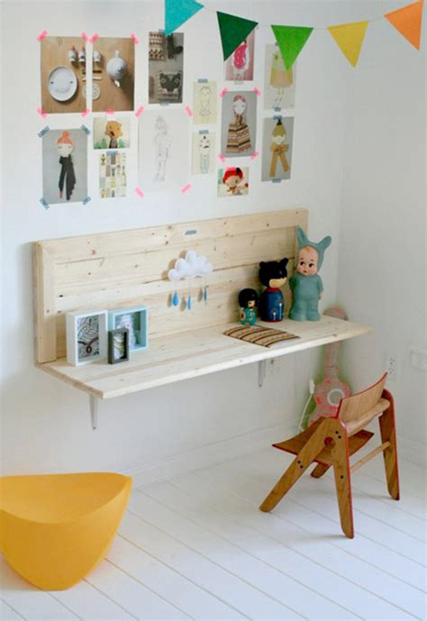 18 creative and modern desk space for kids home design