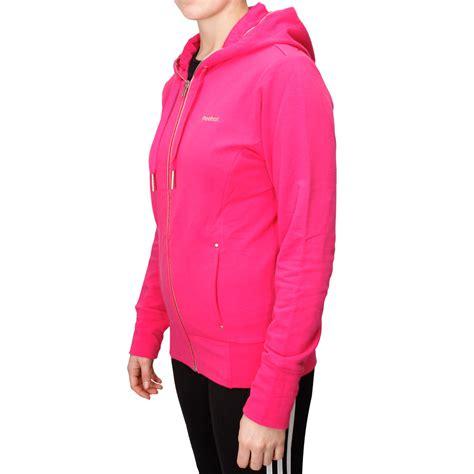 Sweater Hoodie Zipper Jaket Reebok reebok zip womens hoodie overtly pink sportitude