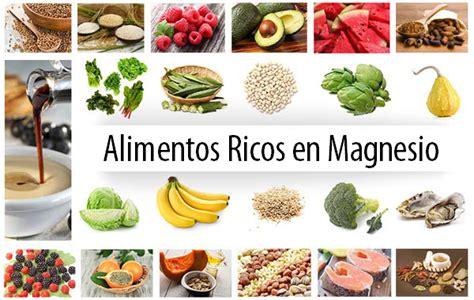 alimentos que tengan magnesio efectos secundarios exceso de magnesio dietaalcalina net