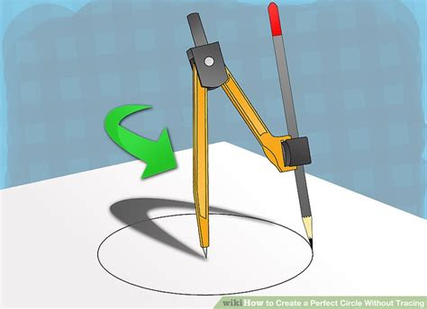 How To Make A Circle With Paper - 3 ways to create a circle without tracing wikihow