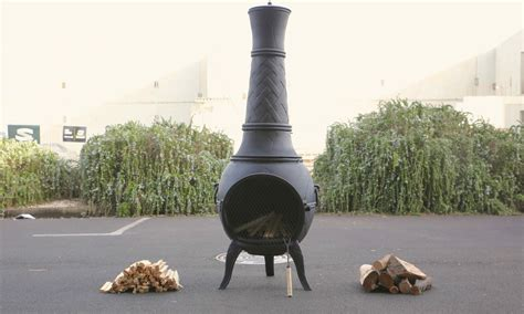 chiminea outdoor fireplace nz container door cast iron chiminea 3