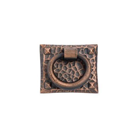 hammered bronze cabinet hardware hammered ring pull in rubbed bronze 263 30 knobs n