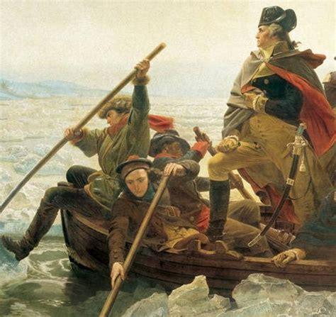 george washington painting boat george washington crossing delaware painting