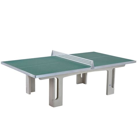 concrete table tennis table butterfly park concrete 45sq table tennis table