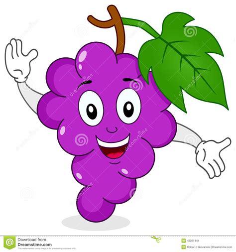 imagenes de uvas kawaii manojo divertido de car 225 cter sonriente de las uvas