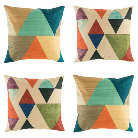 orange cusions buy phoenix 4 cushion cover collection online simply