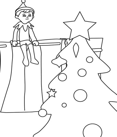 boy elf on the shelf coloring pages to print 139 best christmas coloring pages images on pinterest