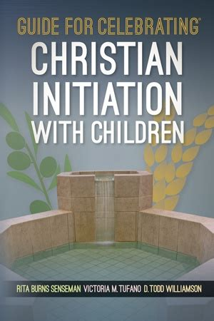 christian initiation books guide for celebrating christian initiation with children