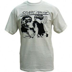 White Shirt Authentic by Sonic Youth Goo White T Shirt Brand New Authentic Rock Ebay